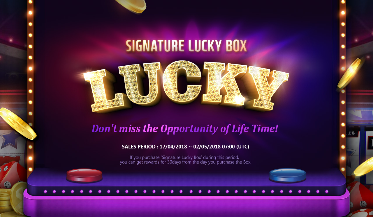 Signature Lucky Box!