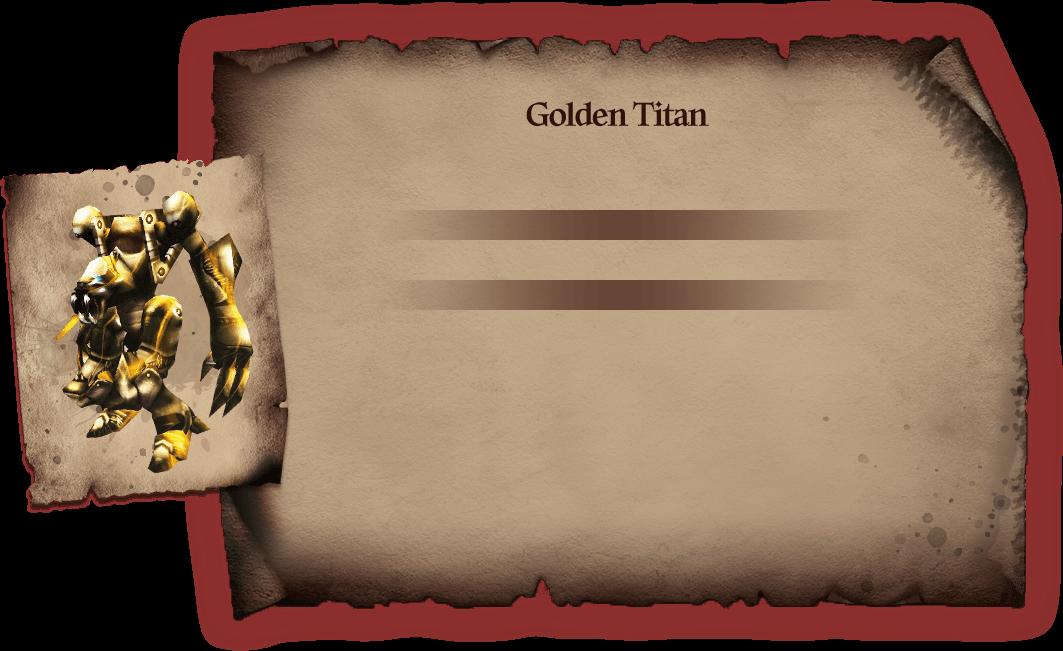 Golden Titan