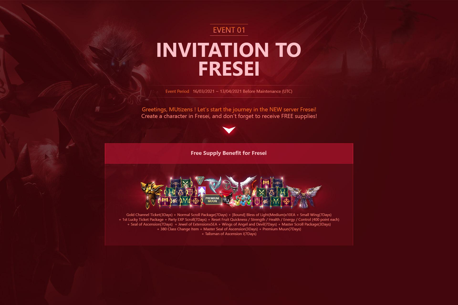 EVENT1 Invitation to Fresei